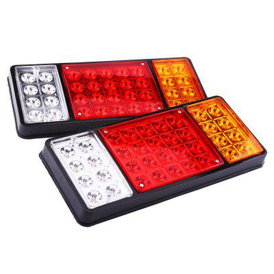 ZIQIAO 1 Pair of 36 Tail Brake Light Lamp Stop Turn Indicator for Car Truck
