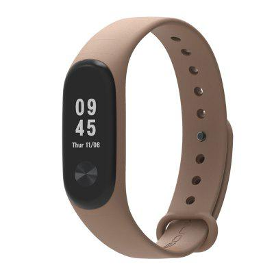Soft Solid Color Replacement Wristband Watch Strap for Xiaomi Mi Band 3