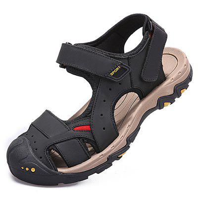 New Men's Suede Leather Fashion Sandals