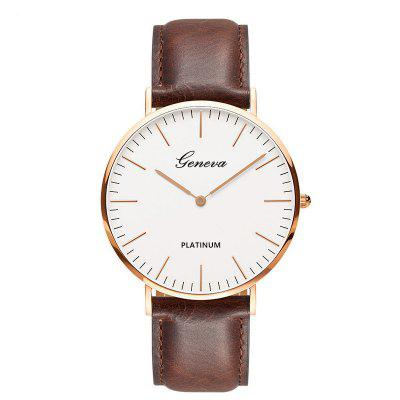 Fashion Quartz Men Business Wrist Watch
