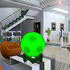YWXLight 10CM 3D Printing Touch Switch Light Rechargeable Ball Lamp - MULTI