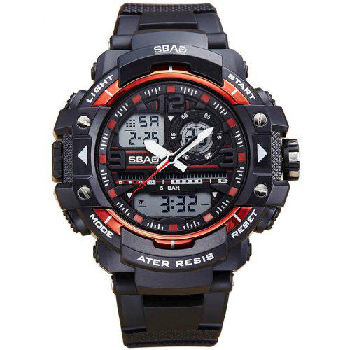 SBAO S-8009 Men Multi-Function Noctilucent Waterproof Electronic Watches