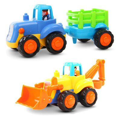 Early Education Baby Push and Go Car Truck Toy Set for Children tsr 80aa ssr 80aa three phase solid state relay ac90 280v input control ac 30 480v output load 80a 3 phase ssr high power aa4880