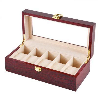 5 Piano Lacquer Watch Collection and Display Box