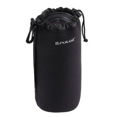 PULUZ Neoprene SLR Camera Lens Carrying Bag with Hook for Canon / Nikon