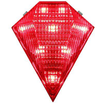 Bicycle Tail Lights with USB Rechargeable 8 LED and 2 Red Safety Lines [ free shipping ] brand new led rear lights led back lights led tail lights for toyota corolla 2007 2010