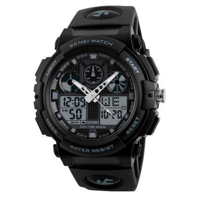 SKMEI 1270 Heren Sports Fashion heren quartz digitaal horloge