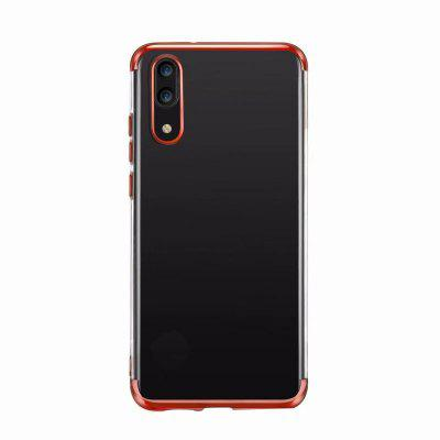 for Huawei P20 Case Thin Slim Fit Flexible Soft TPU Transparent Crystal Cover бинокль levenhuk левенгук atom 7x50