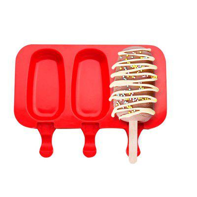 Silicone Ice Cream Mold Popsicle Molds Ice Tray Cube Tool