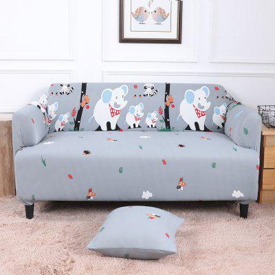 All-Purpose Cartoon Sofa Cover for Four Seasons