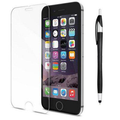 Tempered Glass Screen Protector Film Capacitive Pen for iPhone 8 Plus / 7 Plus