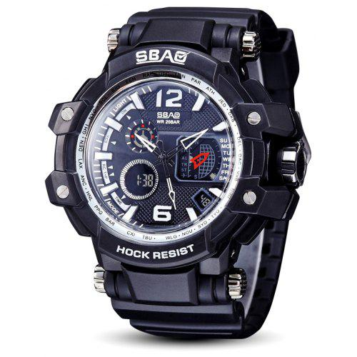 SBAO S-8007 Men Outdoors Waterproof LED Digital Watch