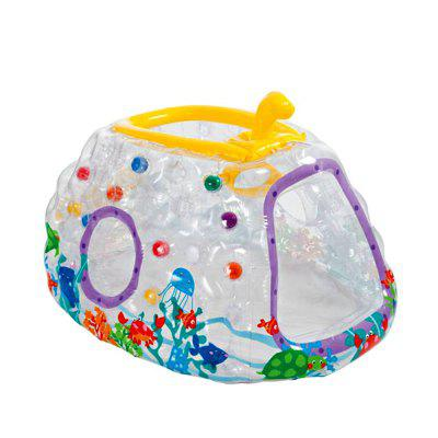 Children Indoor Toy House Gym Transparent Inflatable Submarine Marine Ball Pool colorful rainbow princess indoor decoration children tent baby toy tent kids game play house tents children with mosquito net