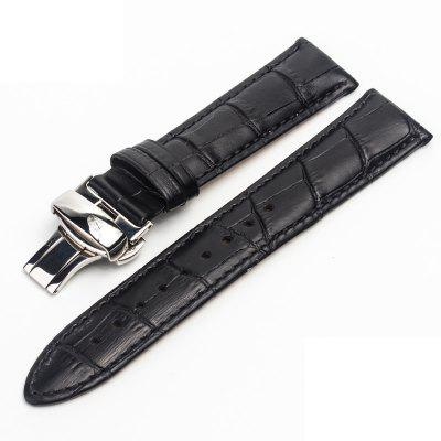 ROPS High Quality Leather Men Strap for Tissot/Watch Accessories 100% genuine leather watch band strap 20mm 22mm 24mm brown black woman man watchbands watch belts high quality ouyawei