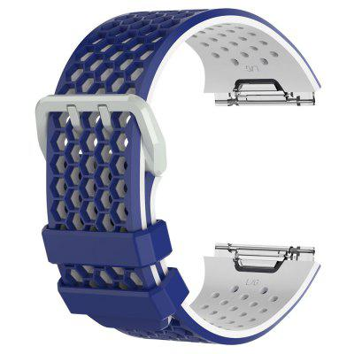 Soft Silicone Sport Wristbands for Fitbit Ionic Watch Strap Band Replacement magnetic milanese loop watch band stainless steel replacement links bracelet strap for fitbit blaze smart fitness watch strap
