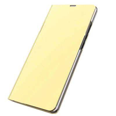 Cover Case for Redmi Note 4 Mirror Flip Leather Clear View Window Smart