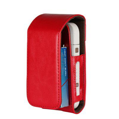 For iqos Electronic Cigarette Leather Box Holder Storage Carrying Case