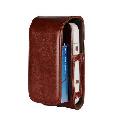 For iqos Electronic Smoke Leather Box Holder Storage Carrying Case