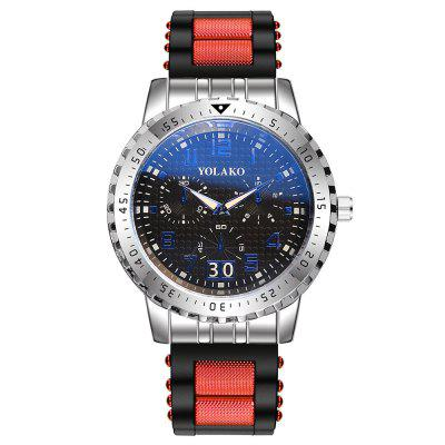 Fashion Men's Big Large Creative Analog Quartz Cool Wrist Watch