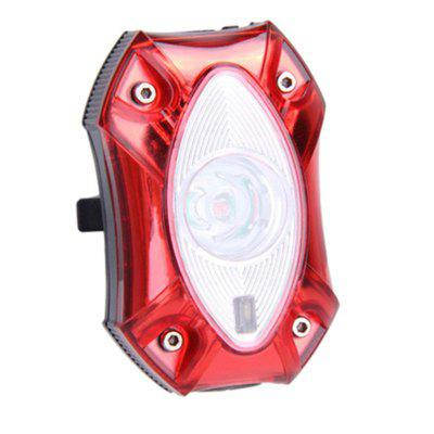 Bicycle USB Rechargeable LED Waterproof Bright  Rear Tail Light