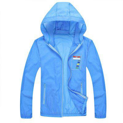 Summer New Outdoor Wear Couple Quick-Drying Sun Protection Clothing Skin Coat