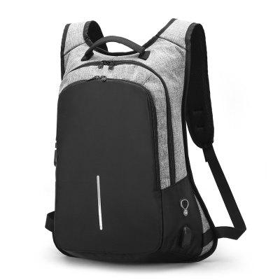 Backpack Men's Computer USB Schoolbag Password Lock Anti Theft men backpack anti theft multifunctional oxford fashion college student school backpack password lock laptop computer bag