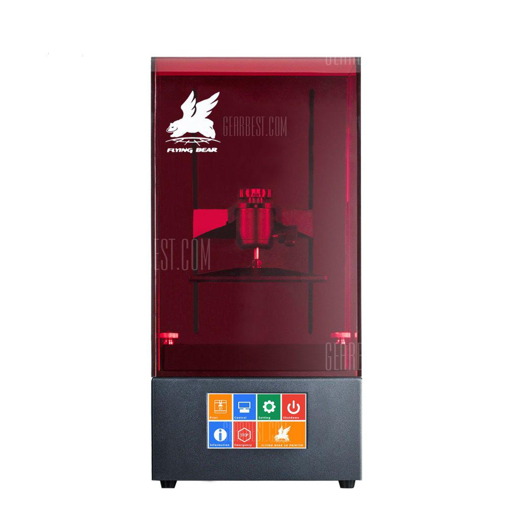 Image result for Newest Flyingbear Shine UV Resin DLP Color Touch Screen 3D Printer