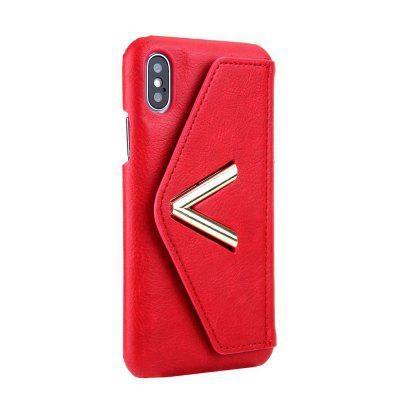 For iPhone X Solid Color Mobile Phone Case