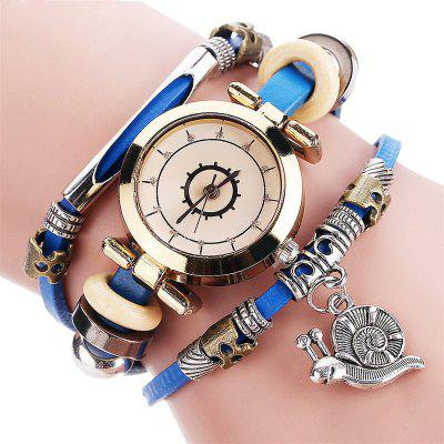 Harajuku Fashion Lady Retro Cartoon Pendant Quartz Watch fashion personalize water pipes 3 5 7 9 heads retro pendant lights bedroom study office cafe bar lamp pendant lamps za