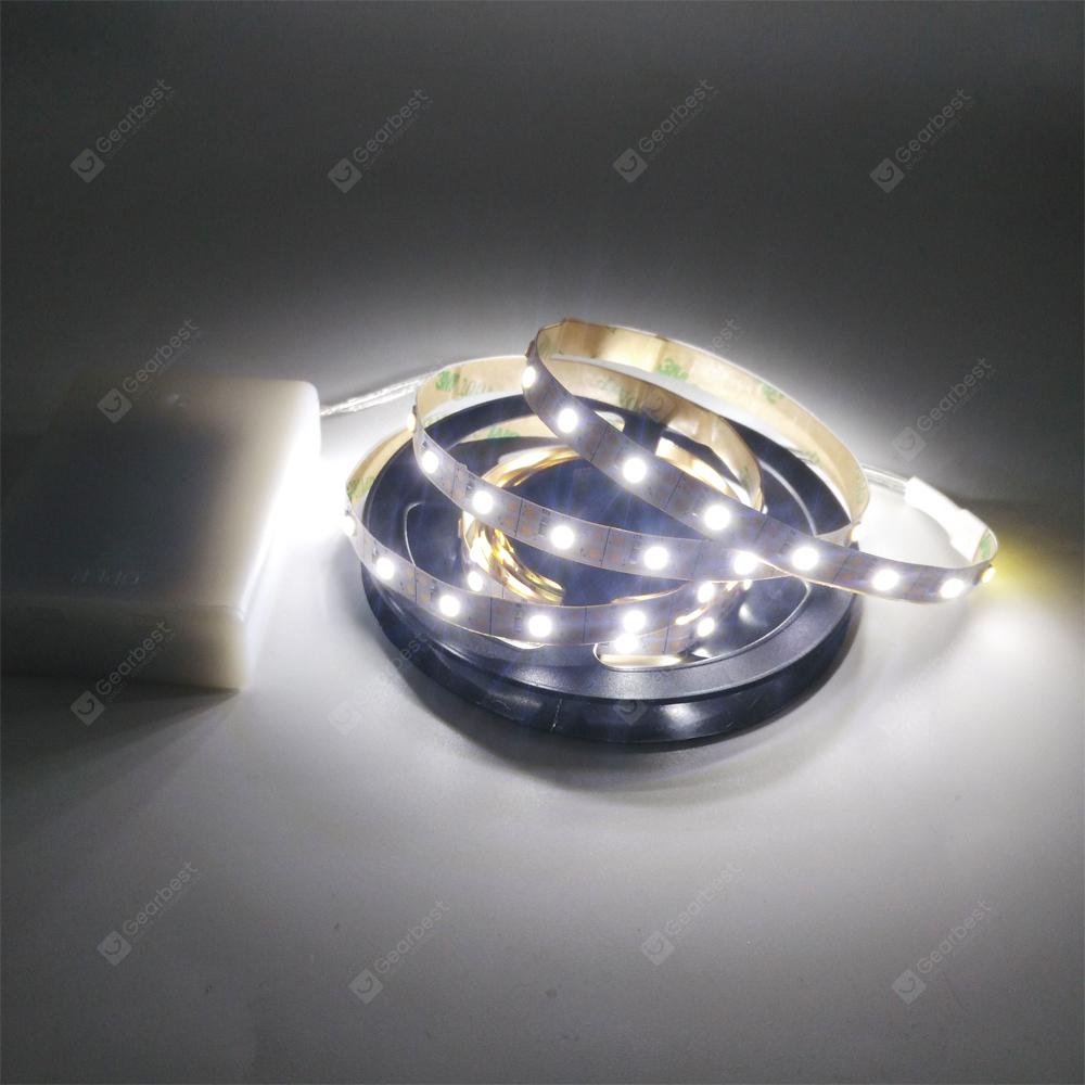 ZDM 5V 2835 LED Strip Lamp Easy to Carry No- Waterproof AA Batteries Powered 1PC