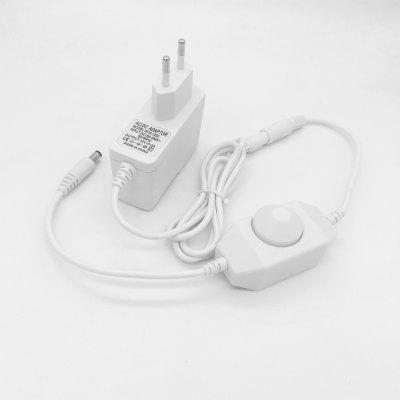 ZDM 12V/2A LED Light Power Adapter and On-Line Monochrome Dimming Switch