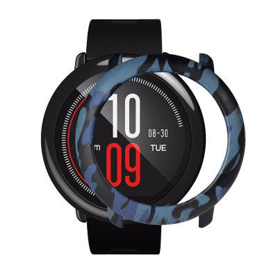 Camouflage PC Case Cover Protective Frame Shell for Huami Amazfit Pace Smart Wat huami amazfit pace replacement strap black blue