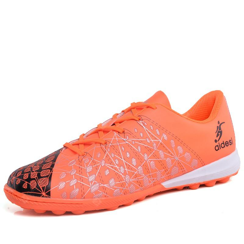 714112563 Soccer Football Shoes Kids Training Men Cleats Professional Sneakers