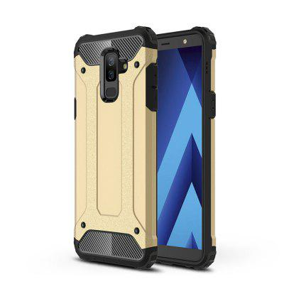 Case for Samsung A6 Plus 2018 Shockproof Rugged Hybrid Armor Back Cover for samsung galaxy tab a a6 7 0 t280 t285 tablet case shockproof hard case military heavy duty silicone rugged stand cover