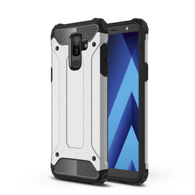 Case for Samsung A6 Plus 2018 Shockproof Rugged Hybrid Armor Back Cover