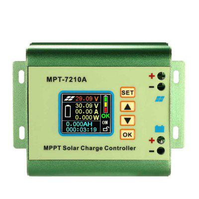 MPT 7210A MPPT Solar Panel Battery Regulator Charge Controller with LCD Display 40a mppt solar charge controller 12v 24v dc auto with lcd display panel charger regulator usb 5v 3a output max pv input 150v