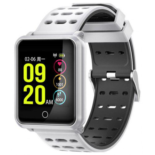N88 Bluetooth 4.2 Heart Rate Monitor Smart Watch