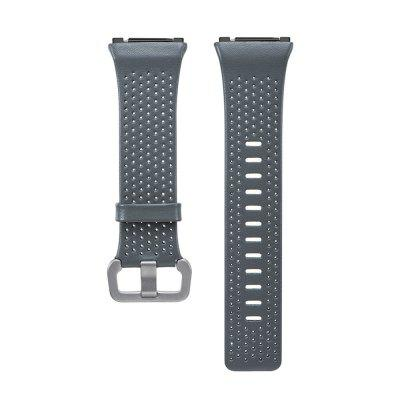 For Fitbit Ionic Smart Watch Band Genuine Leather Replacement Strap Wristband 22mm genuine leather smart watch band strap bracelet for samsung gear 2 r380 r381 r382 moto 360 2 2nd 46mm pebble time steel