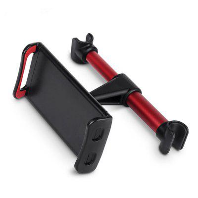 Car Seat Rear Pillow Support Phone Holder Adjustable