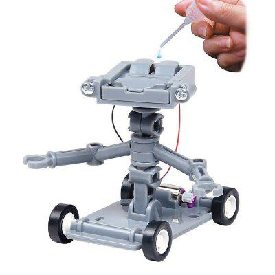 DIY Assembly Salt Water Powered Robot Kit Kids Science Educational Toy