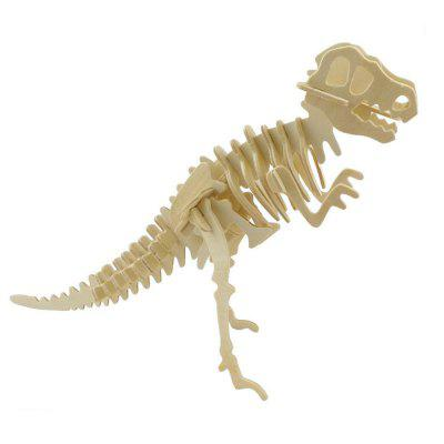 3D  Jigsaw Puzzle Wood Model  Building Kit Dinosaur Bones