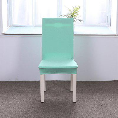 Concise Siamesed Chair Cover of Pure Color for Common Use children chair living room garden playing game toy stool yellow green color furniture shop chair stool retail wholesale