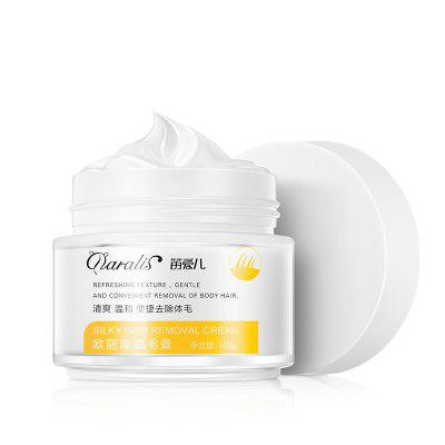 Daralis Hair Removing Cream Quick Apply Painless Smooth  Removal 100g - White