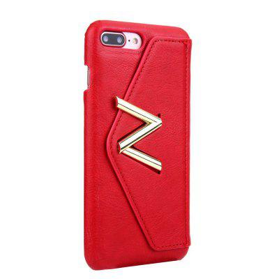 For iPhone 8 Plus / 7 Plus Solid Color Mobile Phone Case