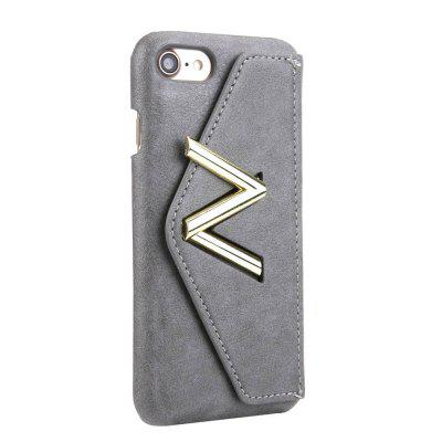 For iPhone 8 / 7 Solid Color Mobile Phone Case cover case for iphone 7 8 solid color dove of peace leather