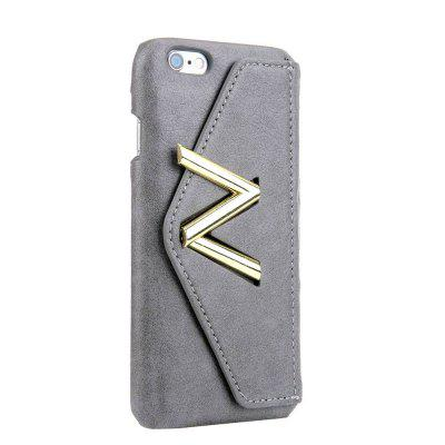 For iPhone 6s Plus / 6 Plus Solid Color Mobile Phone Case