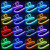 ZDM 1M 5050 RGB LED Strip Lamp Bar Kit di illuminazione TV con 17Key RF USB 5V - BIANCA