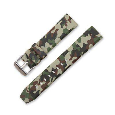 Camouflage Silicone Sport Wrist Strap Band for Xiaomi Huami Amazfit 2