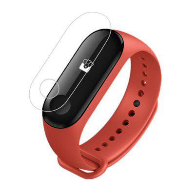 Only $0.49 for 2pcs Clear Screen Protector Protective Film Guard for Xiaomi Mi Band 3 Watch - TRANSPARENT