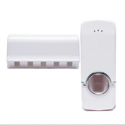 1 Set Tooth Brush Holder Automatic Toothpaste Dispenser